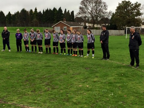 Remembrance 15 Lasies First team